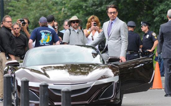 Tony Stark Swaps Audi R8 For Acura Sportscar Concept In
