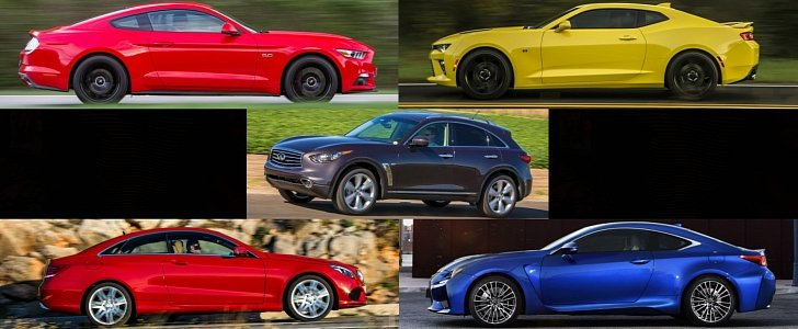 Top 5 Cheapest V8 Cars On Sale In Europe In 2016 Autoevolution