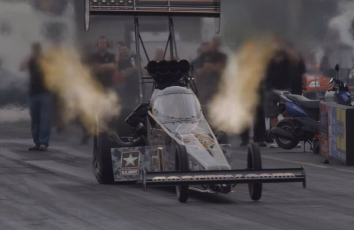 Top Fuel Dragster Measured at 11,051 BHP - autoevolution
