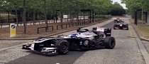 Top Gear Spotted Driving 3 Formula One Cars on the Road [Video]