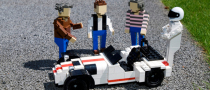Top Gear Team Made of LEGO