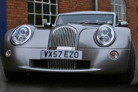This is a Morgan AeroMax similar tothe one Richard was driving