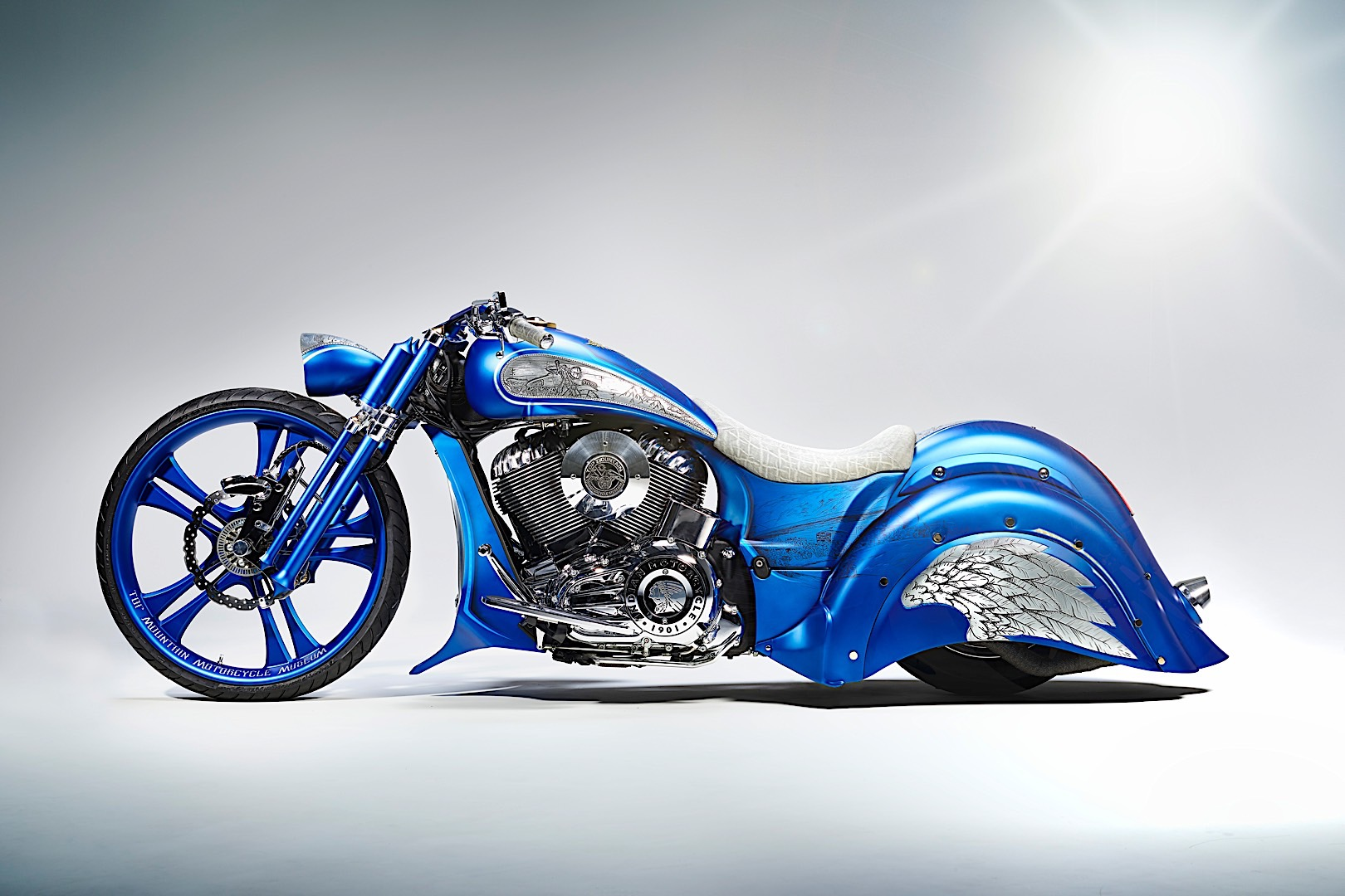 Top Mountain Indian Bagger Is Eye Candy For The Holiday Season