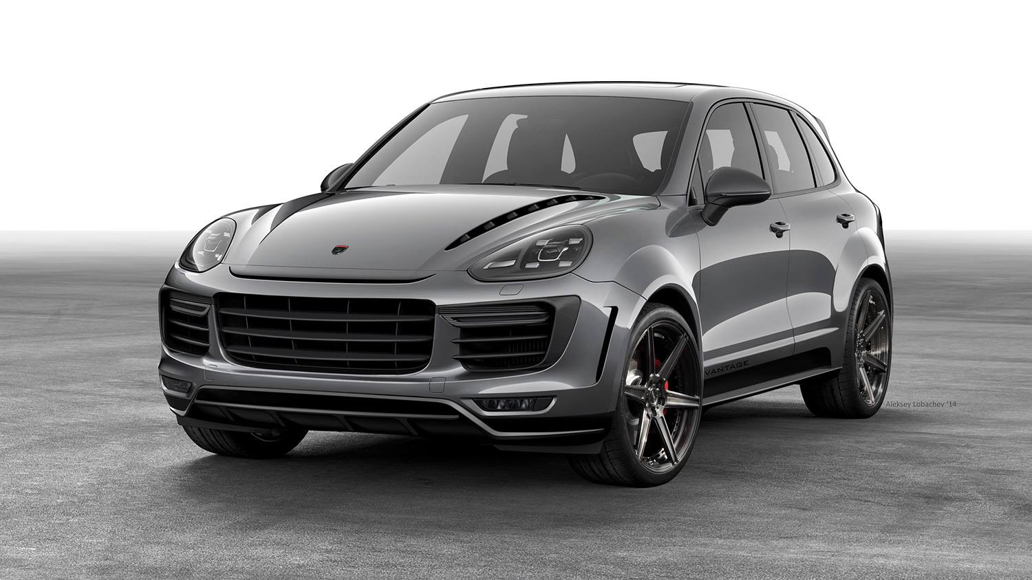 topcar 2015 porsche cayenne vantage looks like a russian bodybuilder autoevolution. Black Bedroom Furniture Sets. Home Design Ideas