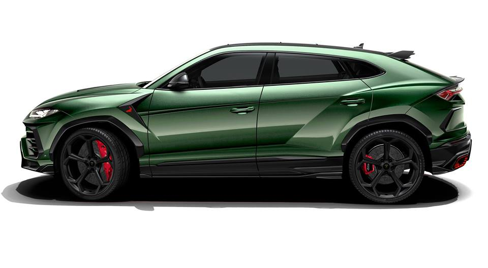 Topcar Design Digitally Tunes The Lamborghini Urus Autoevolution