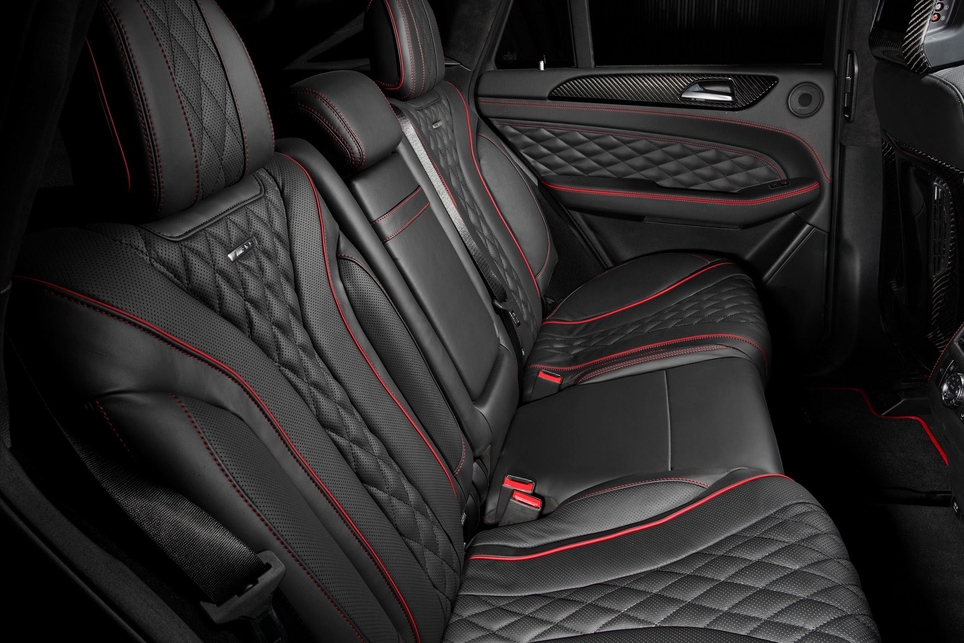topcar does carbon fiber and black leather interior for mercedes gle coupe autoevolution. Black Bedroom Furniture Sets. Home Design Ideas