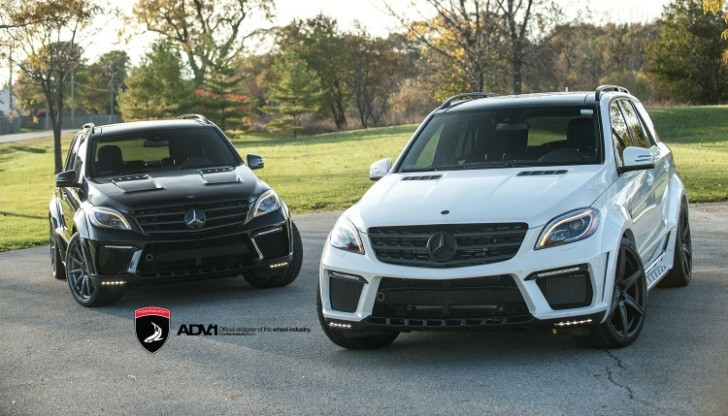TopCar Inferno ML 63 AMG Twins With ADV1 Wheels [Photo Gallery]