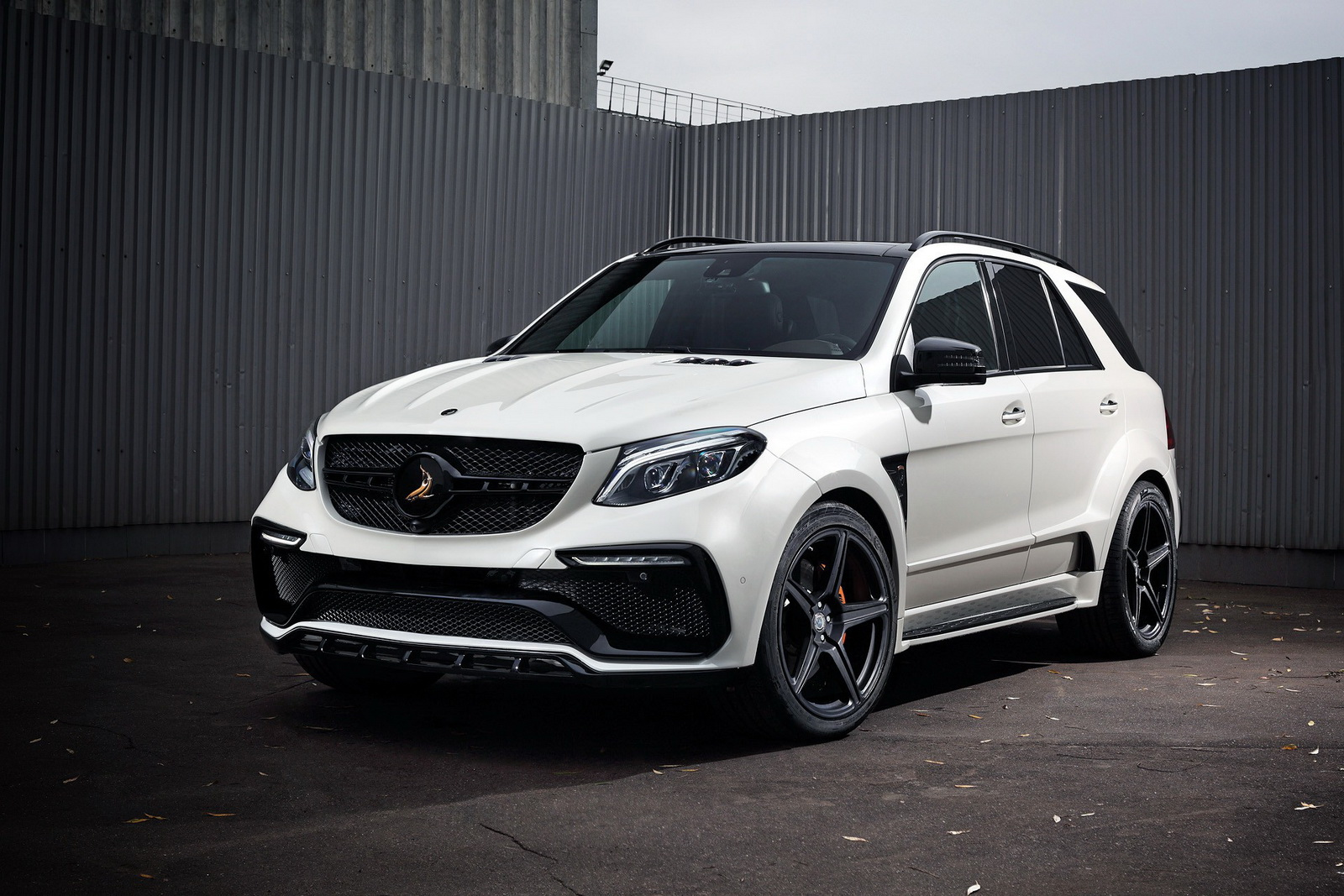 topcar 39 s white mercedes amg gle 63 is the v8 every. Black Bedroom Furniture Sets. Home Design Ideas