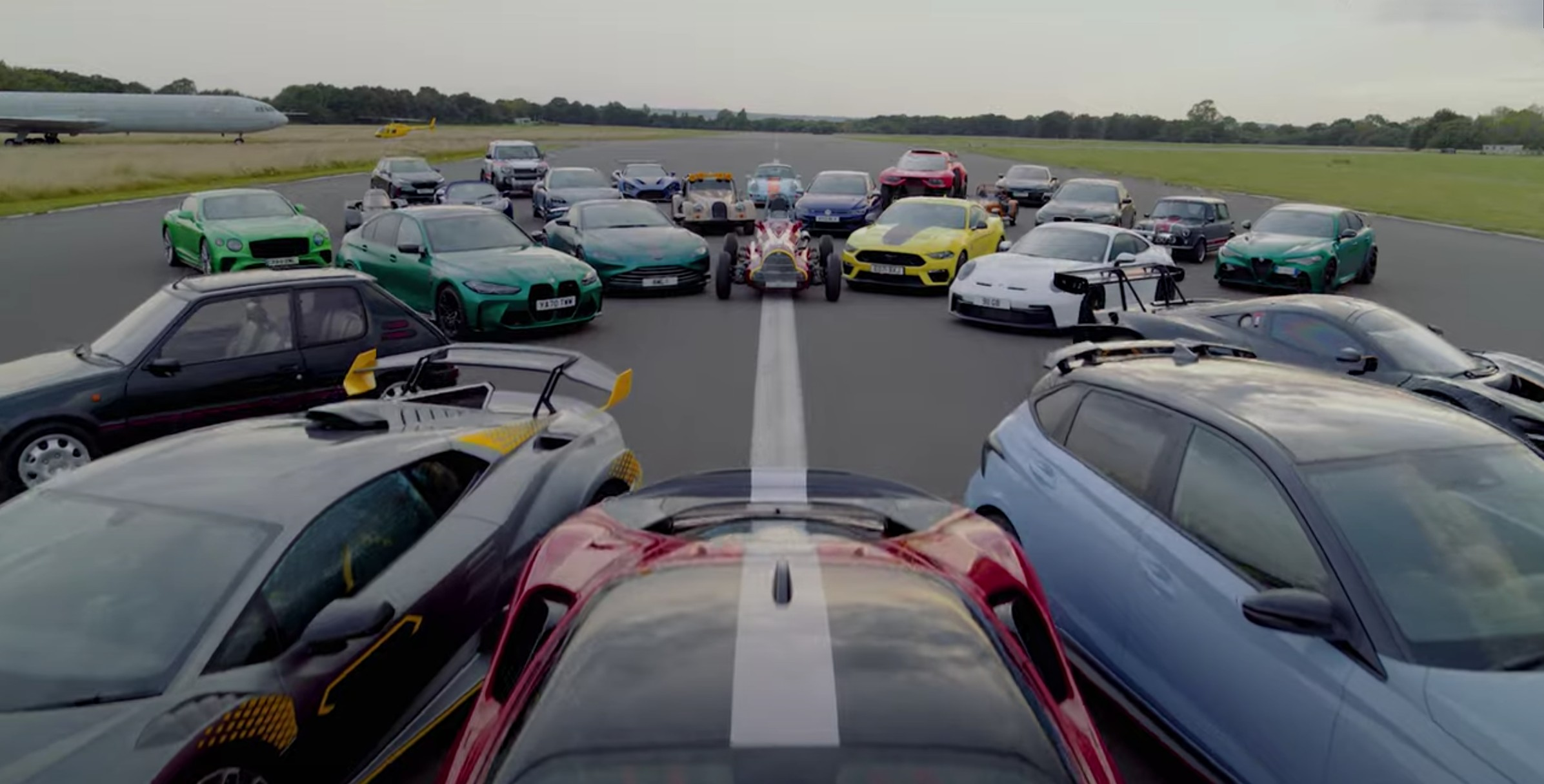 TopGear Teases Speedweek 2021: An Insane Salute To All Things Fast