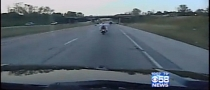 Topless Intoxicated Woman Arrested after Crashing Her Bike on the Highway