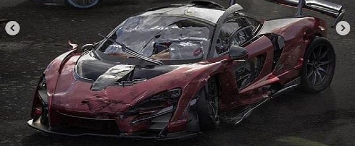 Totaled Cars For Sale >> Totaled McLaren Senna and Bugatti Divo Rendered at Hypercar Junkyard - autoevolution