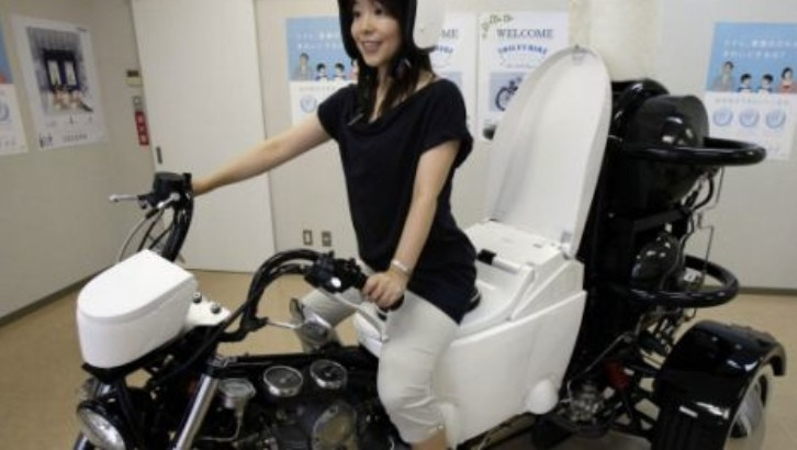 BMW Of Denver >> Toto Toilet Bike Neo Runs on Poo - autoevolution