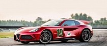Touring Superleggera Aero 3 Makes Sense as an Alfa Romeo V12 Supercar