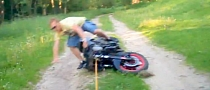 Towed Bike Crash [Video]