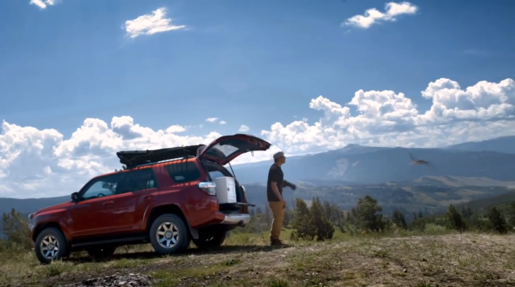 "Toyota 4Runner ""Keep It Wild"" Campaign Featuring Travis Rice [Video]"
