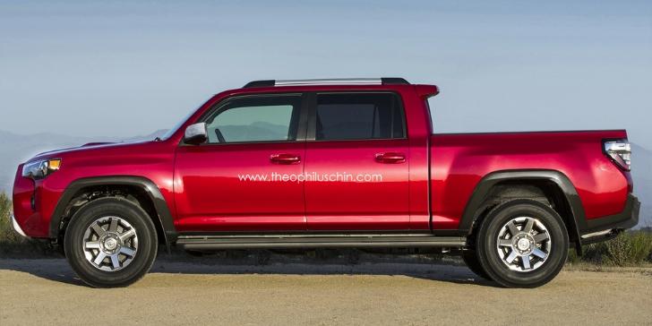 Toyota 4runner Pickup Rendered Autoevolution