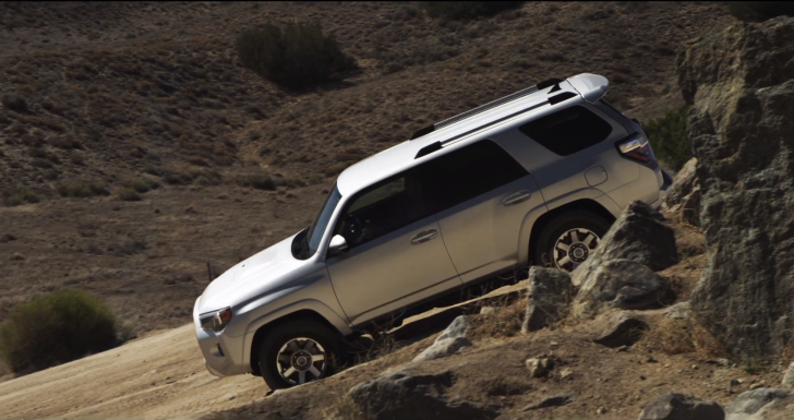 Toyota Advertises the 2014 4Runner's Downhill Assist Control [Video]