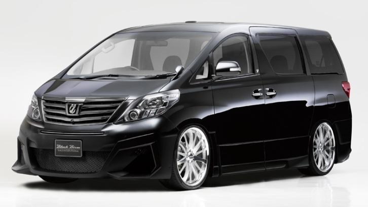 Toyota Alphard Gets New Black Bison Kit From Wald Autoevolution