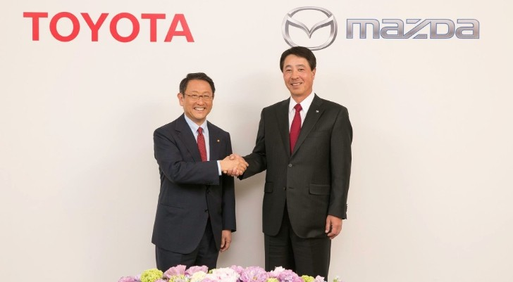 Toyota and Mazda Enter Partnership to Share Technologies ...