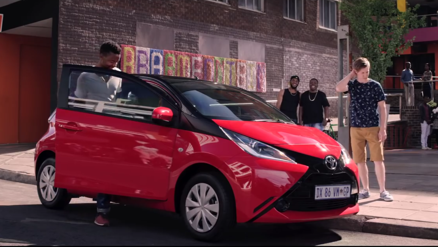 Toyota aygo gets worshiped in south africa commercial