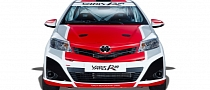 Toyota Building Yaris World Rally Car