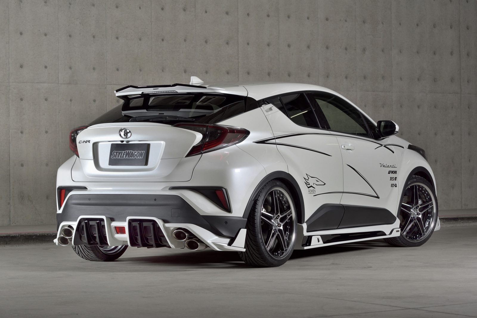 Overkill Toyota C Hr 1 2 Turbo Gets Lexus Is F Quad