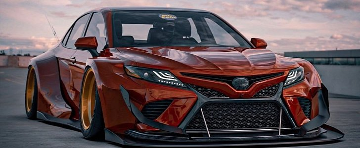 Once Driven Reviews >> Toyota Camry, Corolla and Avalon Get Epic Widebody ...