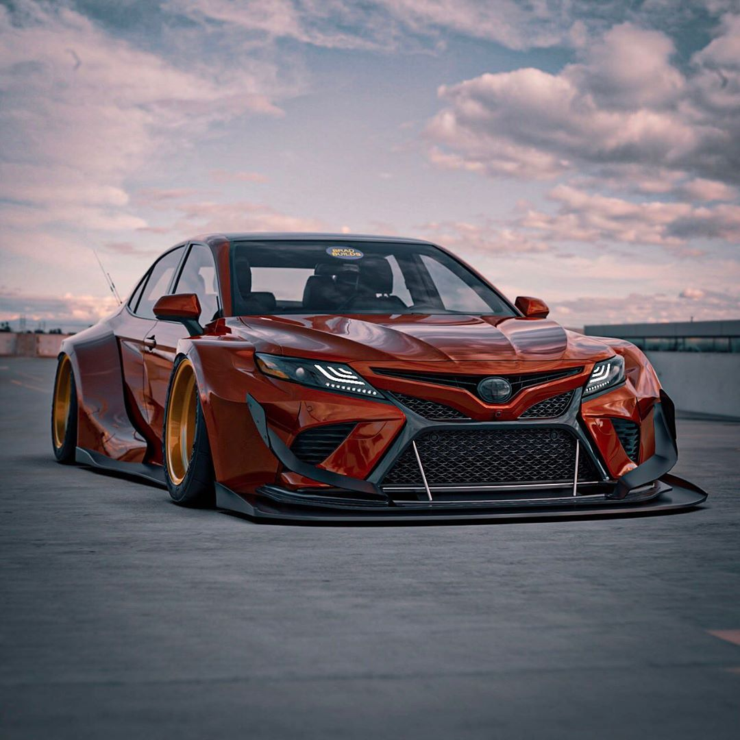 Toyota Camry Corolla And Avalon Get Epic Widebody Transformations Autoevolution