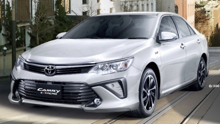 Toyota Camry Extremo Facelift Debuts At The 2015 Bangkok