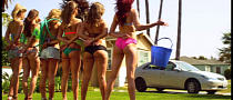 Toyota Camry Gets Washed By Hot Girls [Video]