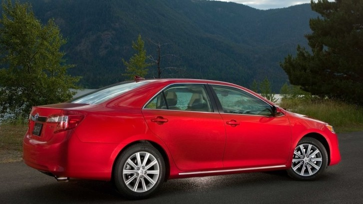 Toyota Camry Tops US Sales in July
