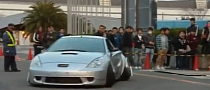 Toyota Celica with Excessive Camber Will Defintely Get You Noticed [Video]