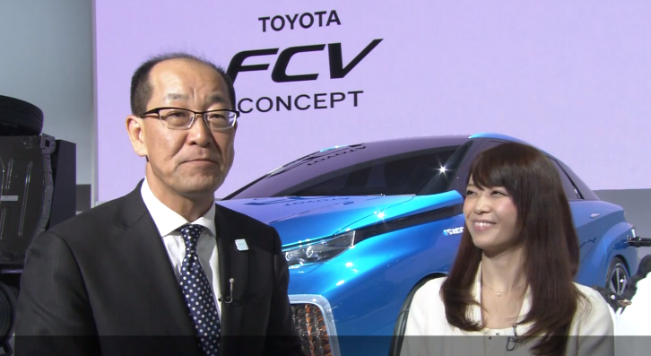 Toyota Chief Engineer Explains the FCV at Tokyo [Video]
