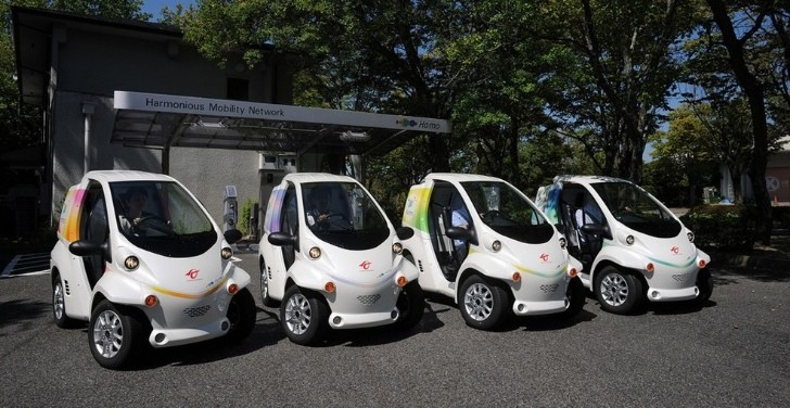 Toyota Coms Now Available For Ha Mo Car Sharing In Japan