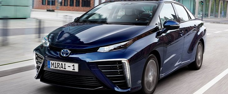 toyota creates google ads for the mirai targeted at model