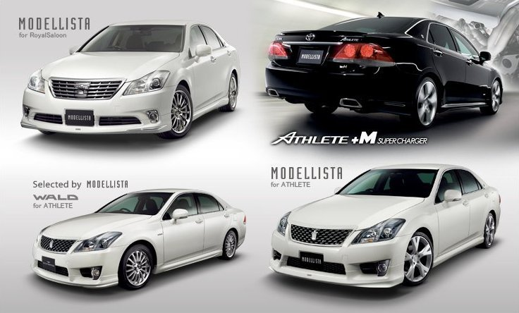 Toyota Crown Tuned By Modellista Autoevolution