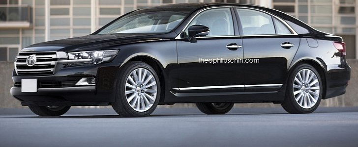 toyota crown wearing land cruiser 200 mask is the