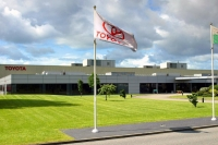 Toyota Deeside plant in the UK