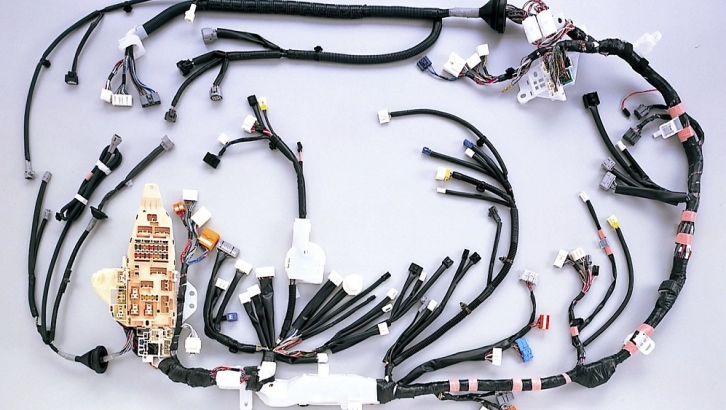 Used Auto Wiring Harness : Toyota developing world first vehicle wiring harnesses
