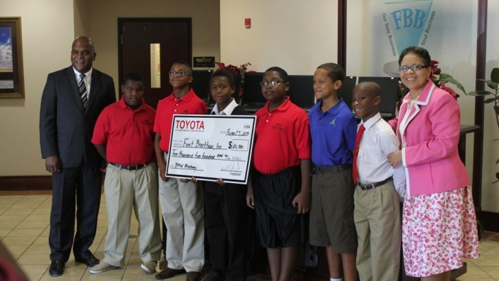 Toyota Donates to Black Males Working Academy