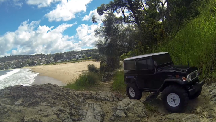 Toyota FJ40 RC Model Looks Almost Real [Video]