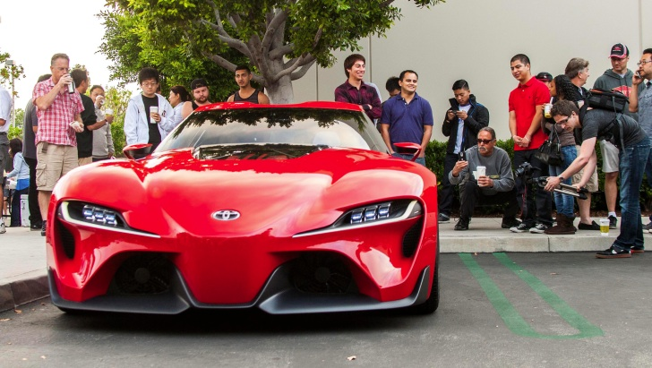 Toyota Ft 1 >> Toyota Ft 1 Concept Shows Up At Cars And Coffee Irvine Autoevolution