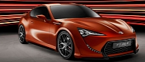 Toyota FT-86 II Concept Turns Brown in Frankfurt