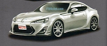 Toyota FT-86 TRD Tuning Leaked