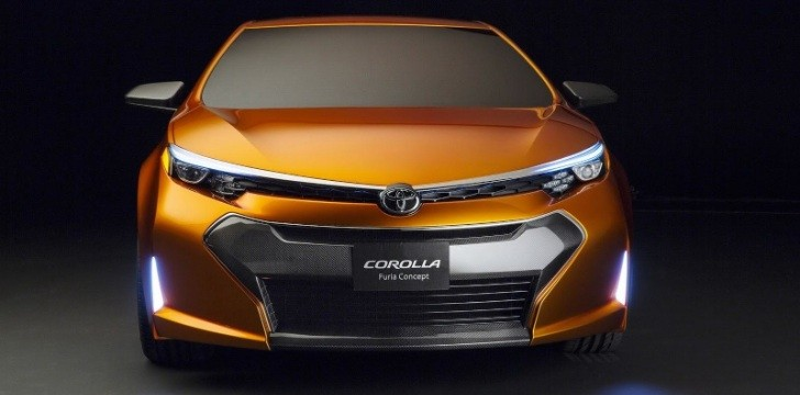 Toyota Furia Concept Previews Next Corolla in Detroit [Photo Gallery] [Video]