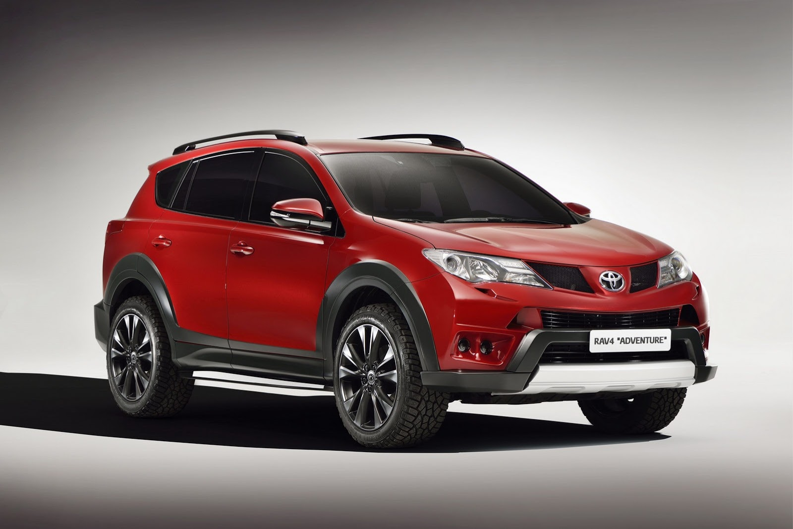 toyota gets tough luxurious with new rav4 concepts. Black Bedroom Furniture Sets. Home Design Ideas