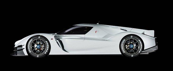 Toyota Gr Super Sport Concept Flaunts 1 000 Ps Hybrid