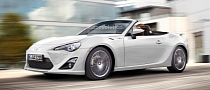 Toyota GT 86 Convertible to Debut at 2013 Geneva Motor Show