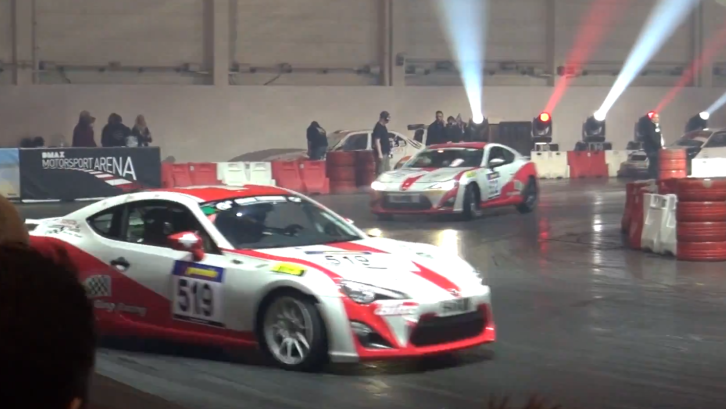 Toyota GT 86 Drifting at Essen 2013 [Video]