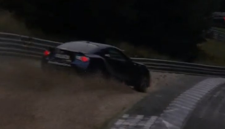 Toyota GT 86 Nearly Crashes at Nurburgring [Video]